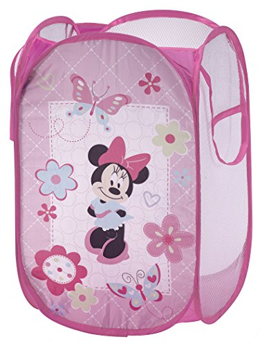 Disney Minnie Mouse Pop-Up Hamper - 1