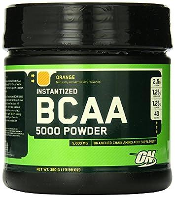 Optimum Nutrition - Instantized BCAA Powder - ORANGE - [5000 mg, 760 Gram]