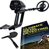 ForagerGO Waterproof Metal Detector Starter Kit Bundle with Shovel and Metal Detecting Guide