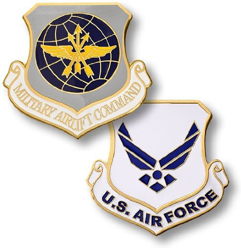 USAF Military Airlift Command Challenge Coin - 1