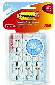 MMM17067CLRVP - Command Communications, Inc Clear Hooks amp;amp; Strips