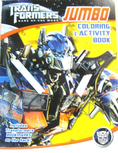 Transformers Dark of the Moon Jumbo Coloring & Activity Book (B) - 1