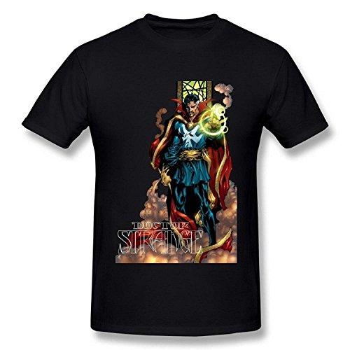 Men's Doctor Strange Dr Strange Black T Shirt