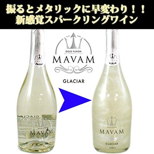 【振って輝く新感覚スパークリング】マバム・グラシア 750ml MAVAM