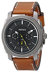 Fossil Men's FS4951 Analog Display Analog Quartz Brown Watch