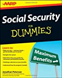 img - for By Jonathan Peterson - Social Security For Dummies (3/18/12) book / textbook / text book