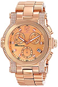 Oceanaut Women's OC0728 Baccara Analog Display Quartz Rose Gold Watch