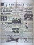 HUMANITE   du 27/10/1938