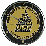 NCAA Central Florida Knights Chrome Clock
