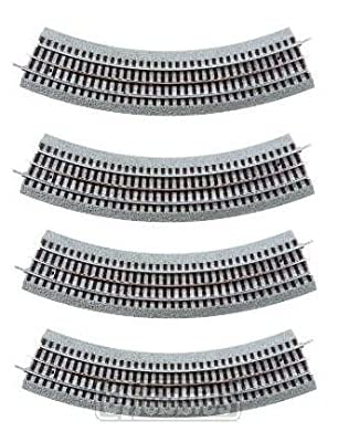 Lionel FasTrack O36 Curve Track 4-Pack by Lionel LLC
