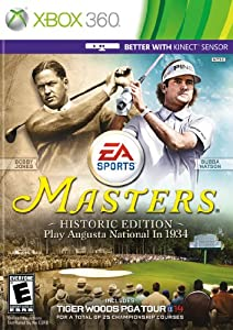 Tiger Woods PGA TOUR 14: Masters Historic Edition -Xbox 360