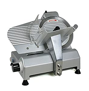 """Zeny® New 10"""" Blade Commercial Deli Meat Cheese Food Slicer Premium Quality 240w 530RPM with Dual Baffle Plates"""