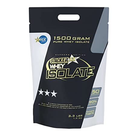 Stacker2 Whey Isolate 3.3 lb (1500g) Pineapple Coconut