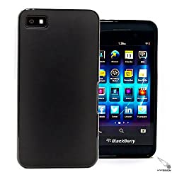 Hyperion Flexible TPU Case for Blackberry 10 Blackberry Z10 Smart Phone - Matte Black (Compatible with ALL Blackberry Z10 Models) Hyperion Retail Packaging