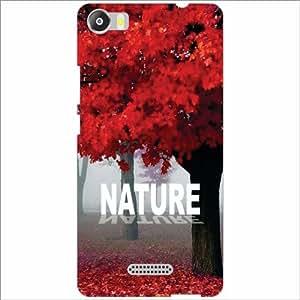 Micromax Canvas 5 E481 Back Cover - Silicon Nature Of Love Designer Cases