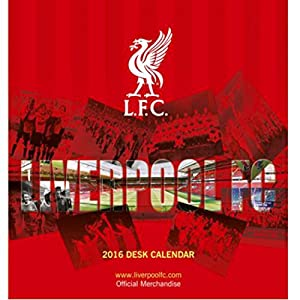 Liverpool F.c. Desktop Calendar 2016 Christmas Gift Idea from GiftRush