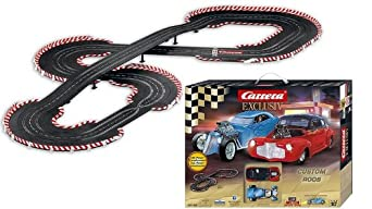 Carrera Exclusive Custom Rods Slot Car Set - 1:24 Scale