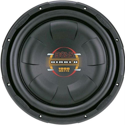 "10"" Diablo Series Low Profile Subwoofer-T44602"