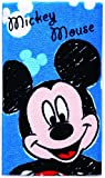 タオルギフト クレヨン ミッキー フェイスタオル 1枚入り ディズニー シャーリングプリント プレゼント 34×75cm FE418500