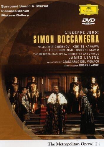 Verdi - Simon Boccanegra / Levine, Te Kanawa, Metropolitan Opera