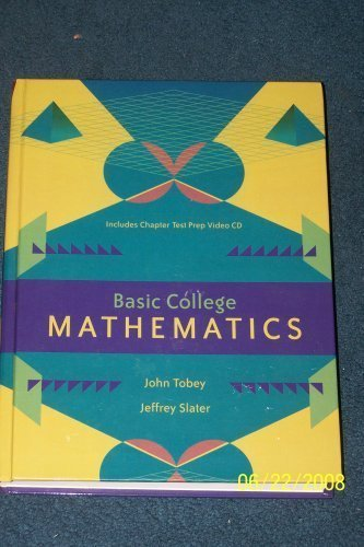 basic mathematics for college students 5th edition pdf