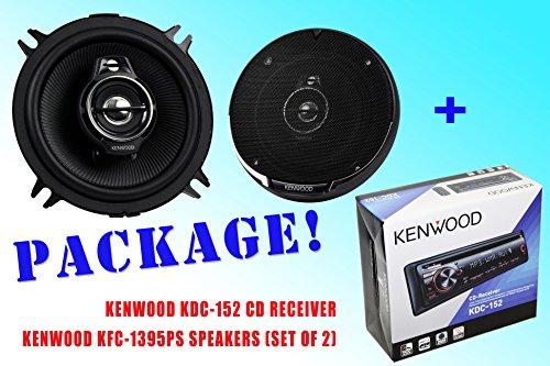 Package ! Kenwood Kdc-152 Cd-Receiver + Kenwood Kfc-1395Ps Car Speakers