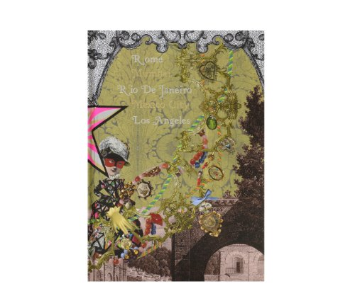 Christian Lacroix Voyage II Travel Hardbound Journal, 7 by 10 Inches, 102 Ruled Ivory Pages, 36 Travel Stickers (01074)