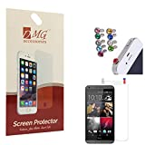 DMG Pack Of 2 Matte Screen Protector For Micromax A190 Canvas HD Plus + 3.5mm Jewel Dust Jack