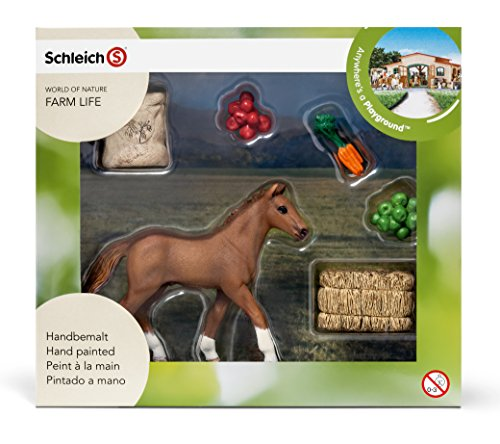 Schleich Foal Eating Set - 1
