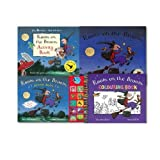 Julia Donaldson Julia Donaldson Room On the Broom Complete Collection 4 Books Set, (Room On the Broom, Colouring Book, Activity Book and [HardBook]Sound Book