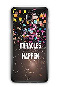 YuBingo Miracles Happen Mobile Case Back Cover for Samsung Galaxy A9