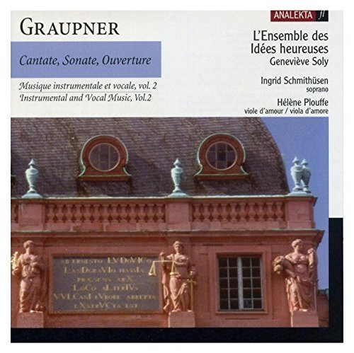 CD : GRAUPNER / SOLY / SCHMITHUSEN / PLOUFFE - Instrumental & Vocal Music 2