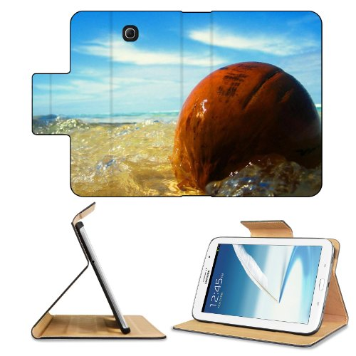Ocean Waves Washing Over Stone Samsung Galaxy Note 8 Gt-N5100 Gt-N5110 Gt-N5120 Flip Case Stand Magnetic Cover Open Ports Customized Made To Order Support Ready Premium Deluxe Pu Leather 8 7/16 Inch (215Mm) X 5 11/16 Inch (145Mm) X 11/16 Inch (17Mm) Msd N front-589830