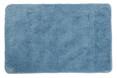 Super Soft Microfiber Bath Rug, 24x35 Inch LIGHT BLUE, Light Blue
