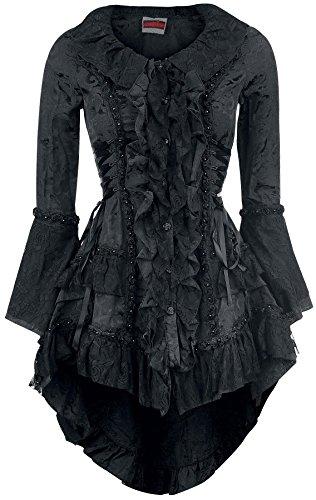 Jawbreaker Victorian Jacket Cappotto donna nero XL