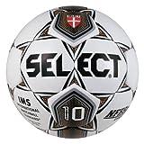 Select Sport America Numero 10 Soccer Ball, 4, White/Gold/Black
