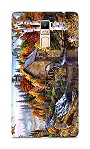 Amez designer printed 3d premium high quality back case cover for Oppo R7 Plus (Home)