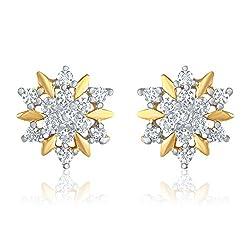 Mahi Gold-Plated Stud Earings For Women ( GoldER1109175G)