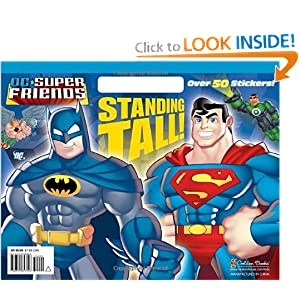 Standing Tall! (DC Super Friends) (Big Coloring Book) book downloads