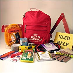 ROAD WARRIOR ECONOMY (13 PIECE) AUTOMOTIVE EMERGENCY SURVIVAL 72 HOUR KIT - FOR CARS AND TRUCKS
