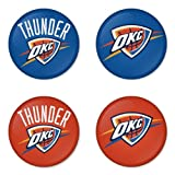 "Oklahoma City Thunder NBA Round Badge 1.75"" Pinback Amazon.com"