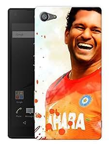 "Humor Gang Sachin Tendulkar Legend Number 17 Printed Designer Mobile Back Cover For ""Sony Xperia Z5 Mini - Compact"" (3D, Matte, Premium Quality Snap On Case)"