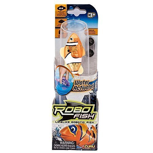 Robo Fish Tropical Wave 2 - Colors/Styles Vary