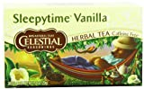 Celestial Seasonings Sleepytime Vanilla, 20 Count Tea Bag (Pack of 6)