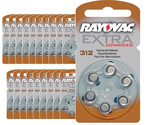 120-piles-auditives-rayovac-312-extra-advanced-pile-auditive-pr41-piles-pour-appareils-auditifs-312a