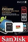 Sandisk Extreme 64gb Micro Sdxc Sd 80 Mb/s 533x Uhs-i Class 10 Sdsdqx-064g-u46a