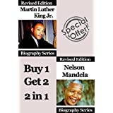 Celebrity Biographies - The Amazing Life Of Martin Luther King Jr. and Nelson Mandela - Biography Series