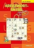 Kreuzworträtsel: Rätselspaß für Kinder (rot)