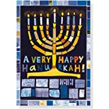 Hanukkah Mosaic Large Boxed Cards  (Christmas Cards, Greeting Cards)