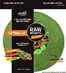 Raw Wraps Spinach- Gluten Free. Vegan...